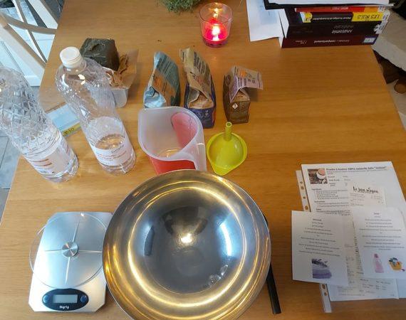 Réunion bulle: en cuisine!
